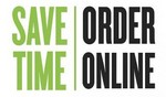 Order online and save time